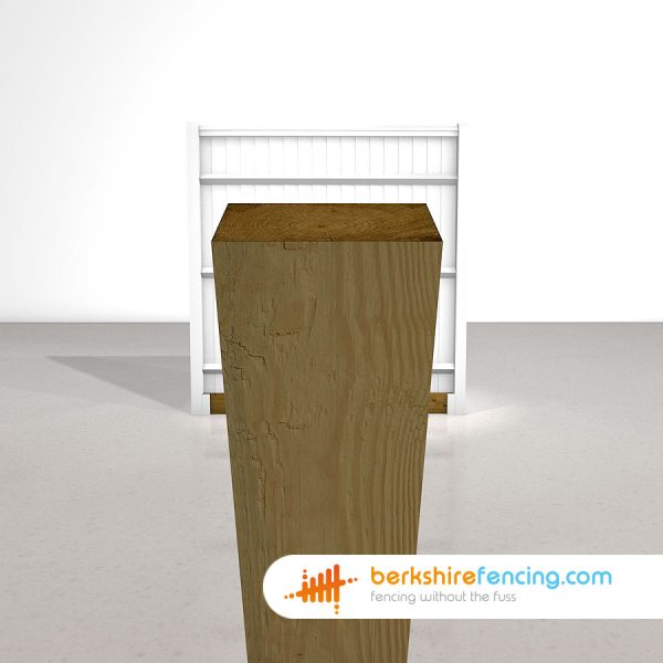 Wooden Gravel Boards 180cm x 15cm x 5cm brown